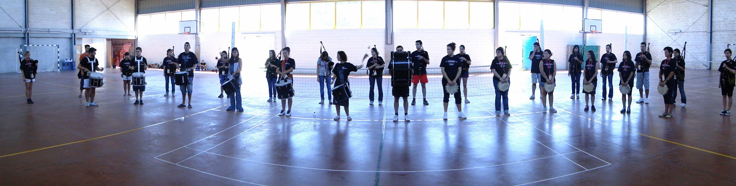 Gala Ortigueira - Banda Ensayo