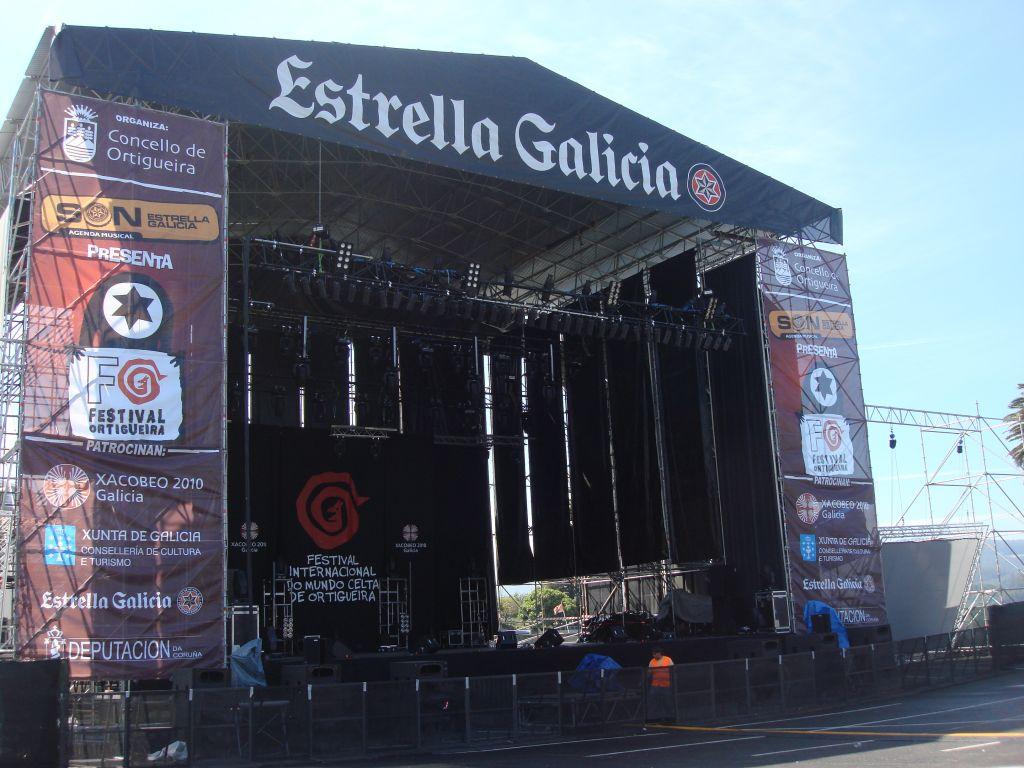 Gala Ortigueira - Escenario