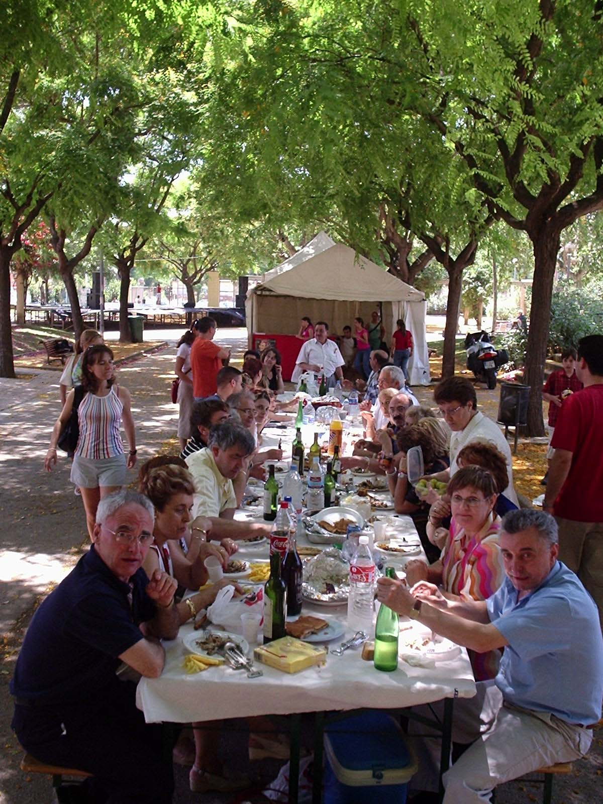 Comida Socios Parque Alhambra
